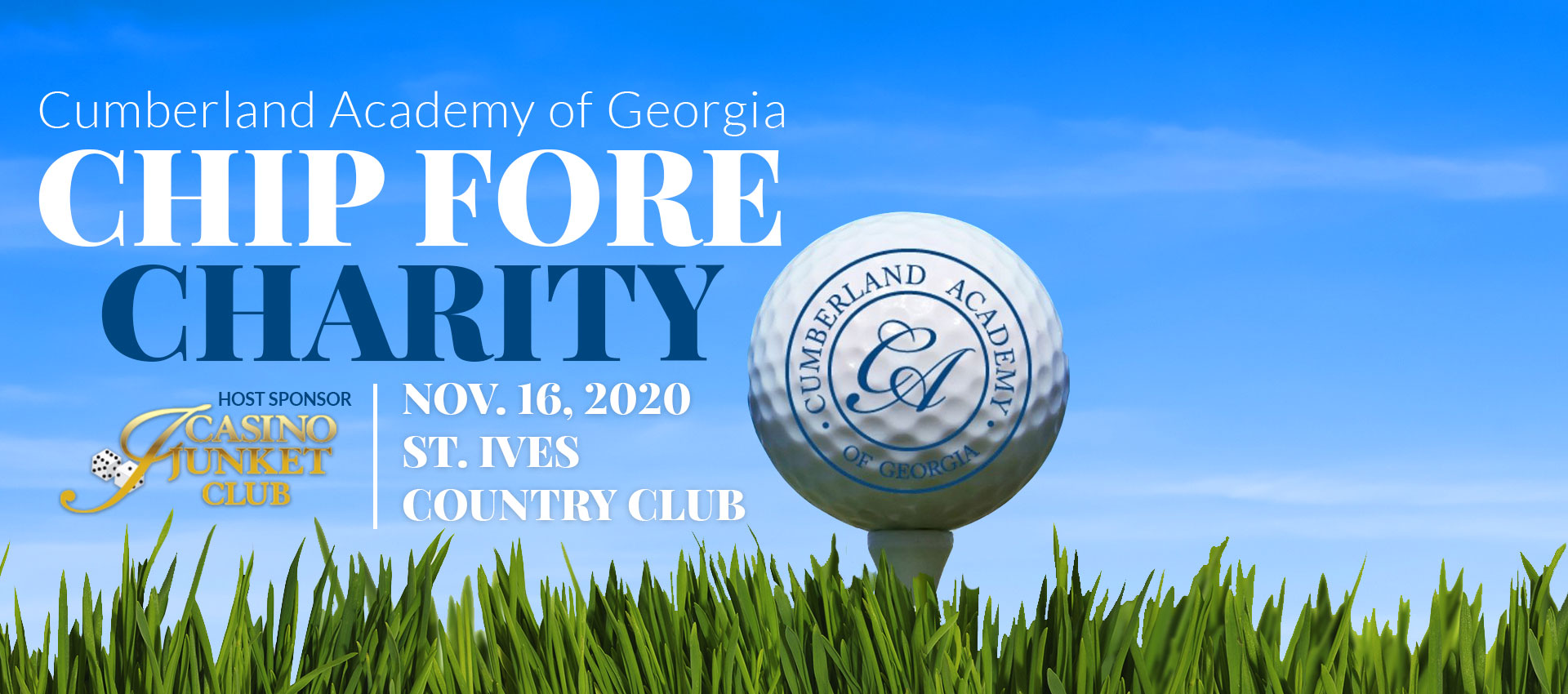 Chip Fore Charity with Cumberland Academy of Georgia