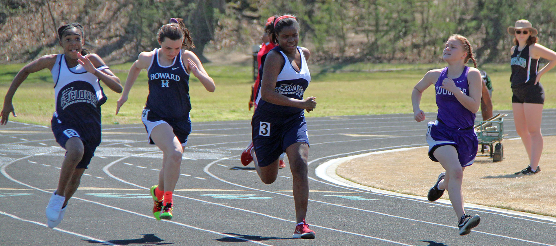 Cumberland Academy Track Team - Athletics Department